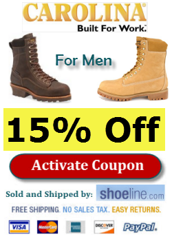 carolina boots coupon for men