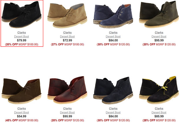 Looking for Clarks Desert Boots Sale