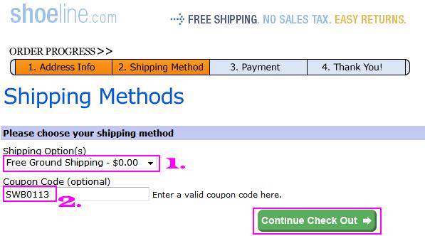 Shoeline coupon code